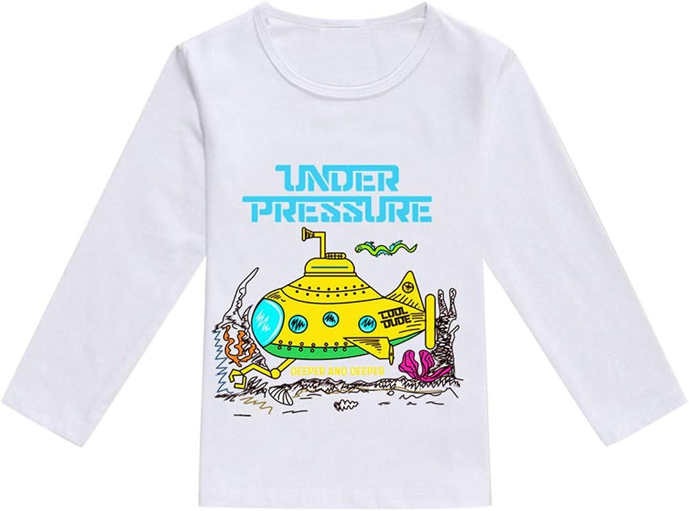 MYONA Camiseta de Manga Larga para Niños Niñas, Suéter para Bebé ...