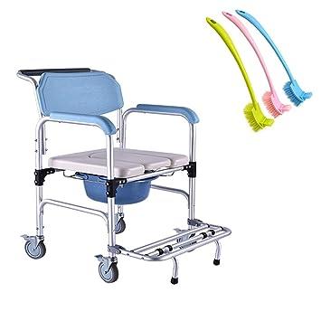 Amazon.com: LYF STOOLS Silla de ducha de aluminio/silla de ...