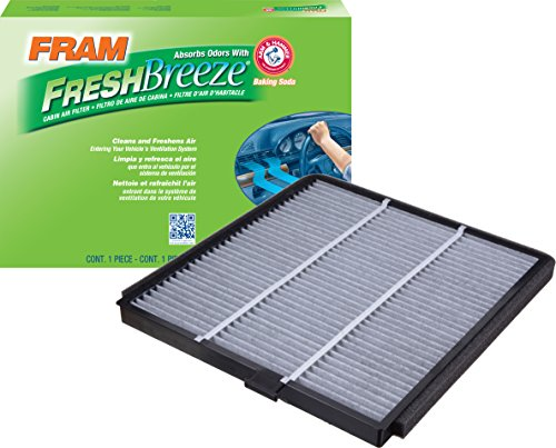 FRAM CF8813A Fresh Breeze Cabin Air Filter with Arm & Hammer
