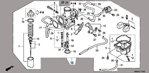 03 honda recon carburetor - 4