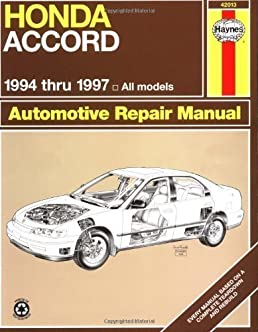 honda accord automotive repair manual models covered all honda rh amazon com honda accord 1999 repair manual free download 1999 honda accord v6 repair manual