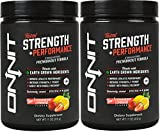 Onnit Total Strength and Performance - Stimulant-Free Pre-Workout Supplement - Strawberry Lemonade (60 Servings)