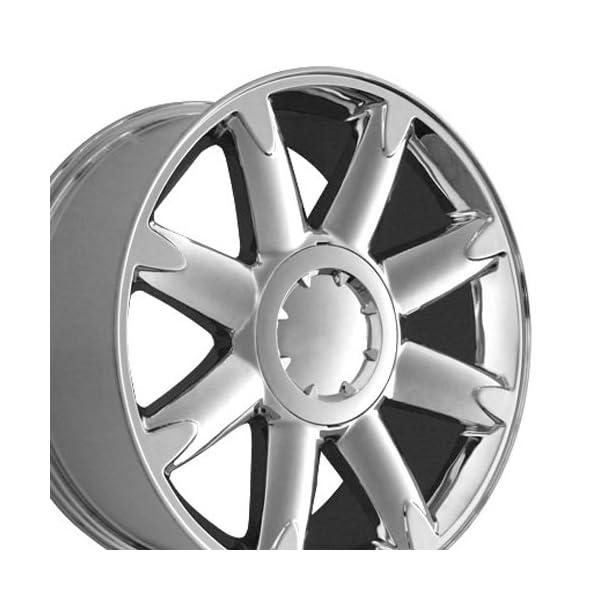 OE-Wheels-20-Inch-Fits-Chevy-Silverado-Tahoe-GMC-Sierra-Yukon-Cadillac-Escalade-CV85-Chrome-20×85-Rim-Hollander-5304
