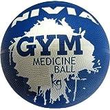 Nivia Medicine Gym Ball, 3kg (Blue)