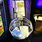 TheExhibitionShop Donation Box - Suggestion Box - Ballot Box - Business Card Collector - Candy Dispenser - Competition Bowl