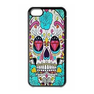 ALICASE Diy Hard Shell Case Artsy Skull For Iphone 6 (4.5) [Pattern-1]