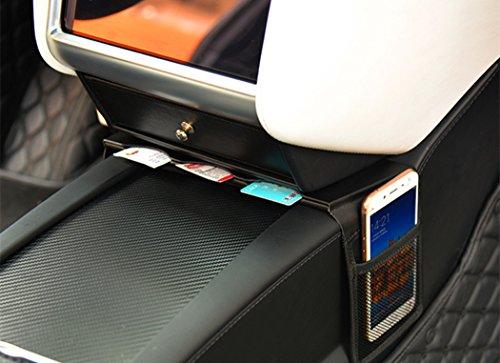 Car Center Console Armrest Storage Box Holder Container Glove Pallet Compatible Model S Model X  2016 2017 2018 2019 (Card Set Holder)