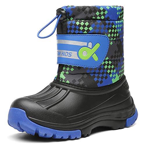 - Kids Snow BootsBoys & GirlsWinterBoots Waterproof Cold Weather Outdoor Boots (Toddler/Little Kid/Big Kid) 19TXDK02-T33-34