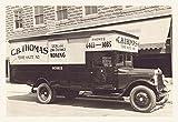 "Buyenlarge CB Thomas Moving Truck - Galería envuelta 28 ""X42"" Impresión de lienzo, 28 ""X 42"""