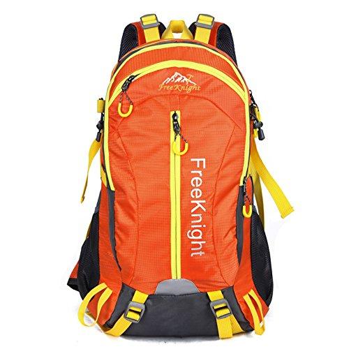 Mountaineering Bag Outdoor Männer und Frauen Schulter Rucksack Wanderpackage Bergsteigen Taschen , Violett