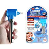 Tooth Polisher Whitener Stain Remover with LED Light Luma Smile Rubber Cups