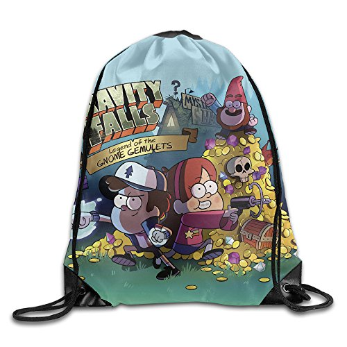 Sokie Gravity Falls Gym Drawstring Backpack/Travel Bag