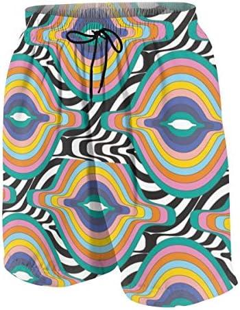 キッズ ビーチパンツ 抽象的な絵 和風 サーフパンツ 海パン 水着 海水パンツ ショートパンツ サーフトランクス スポーツパンツ ジュニア 半ズボン ファッション 人気 おしゃれ 子供 青少年 ボーイズ 水陸両用
