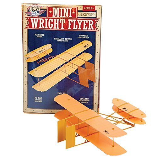 Flight Model Kit - Sky Blue Flight Mini Wright Flyer Model Kit