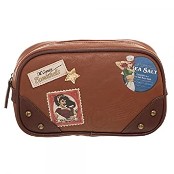 97dc3c2f4a Amazon.com : DC Comics Bombshell Makeup Bag : Beauty
