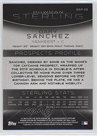 Amazon com: Gary Sanchez (Baseball Card) 2013 Bowman