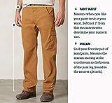 prAna Men's Brion 34-Inch Inseam Pant, Black, 40