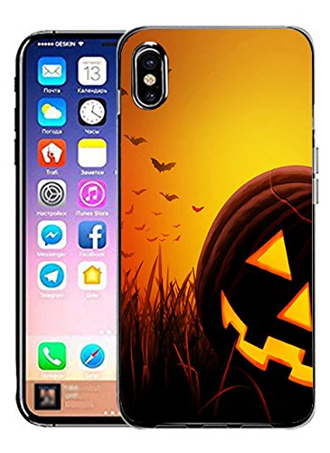 Hard Cover for iPhone Xs/iPhone X Ultra Slim Thin Halloween Theme