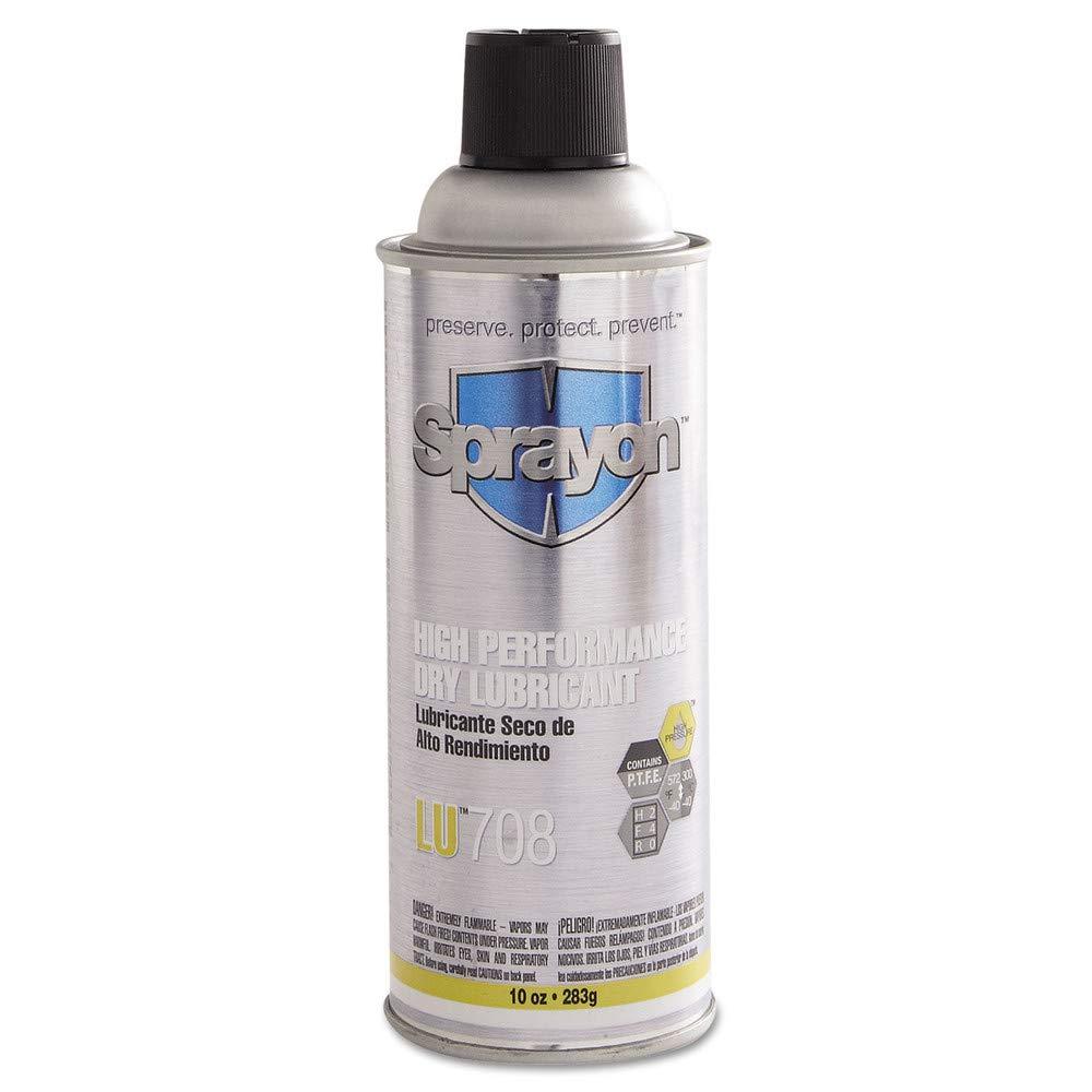 Lu708 High Performance Dry Lubricant10 Oz. - Lot of 12