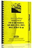 Caterpillar 518 528 Skidder Operators Manual