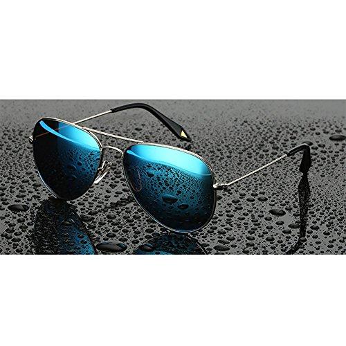 mujeres las las playa que gafas sol de retras Azul Color Gafas ligeras de polarizadas púrpuras de la YXX conducen xSYffw74q