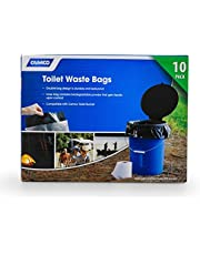 Camco 41548 Toilet Bucket Replacement Waste Bag, 10 Pack