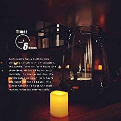 Candle Choice Set of 12 Flameless Candles, Flamele