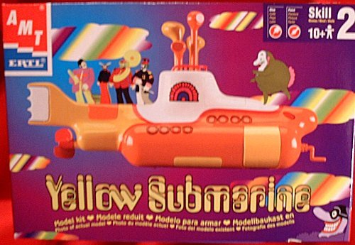 yellow submarine model kit - 5