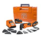 FEIN AFMM18QSL Cordless MultiMaster StarlockPlus Oscillating Multi-Tool with snap-fit accessory change