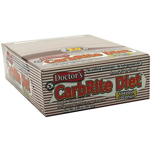 Universal Nutrition Doctor's CarbRite Sugar Free Bar - Toasted Coconut - 12 - 2 oz (56.7 g) bars