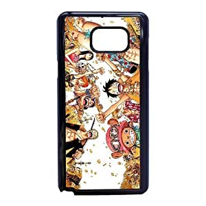 Stylish One Piece Design Samsung Galaxy Note 5 Cell Phone Case Funda negro 111