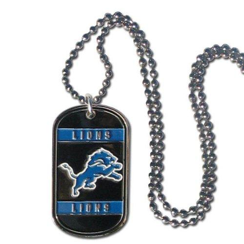 NFL Detroit Lions Dog Tag Necklace