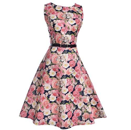 Moda Verano Ocio Atractivo Simple Personalidad Delgado Vestido 11