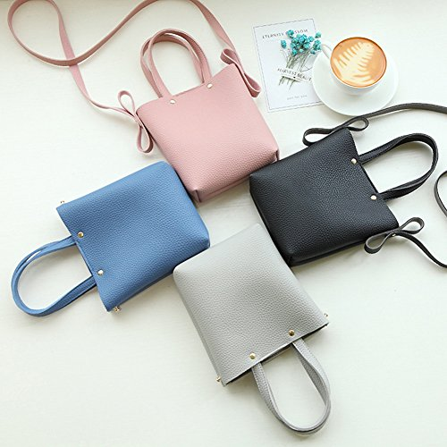 Faux AchidistviQ Gift Cross Black Phone Purse Purse Color Body Leather Coin Solid Mini Fashion Bag Coin Women aXrfzWXH