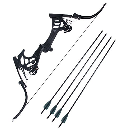 Mtxc Superhero Cosplay Oliver Queen Bow and Arrow Season Five Black ()