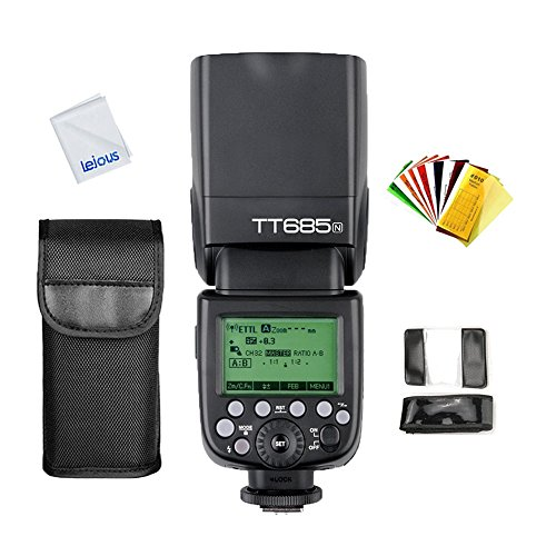 Godox TT685N TTL 2.4G HSS 1/8000S Wireless Master / Slave Fl