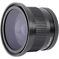 Nikon COOLPIX P900 0.35x High Grade Fish-Eye Lens + Nw Direct Micro Fiber Cleaning Cloth