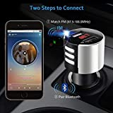 Peigen 2019 New Car Player,Car Electronics,Car USB Charger FM Transmitter Wireless Radio Adapter MP3 Player 3.4A