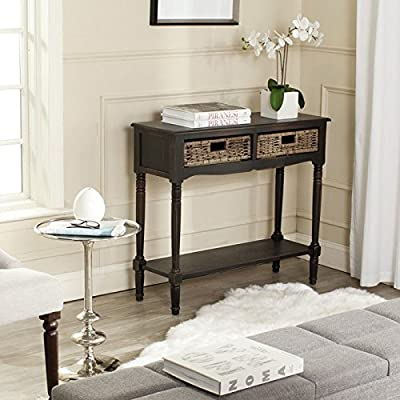 Safavieh American Home Collection Corbin Brown Console Table