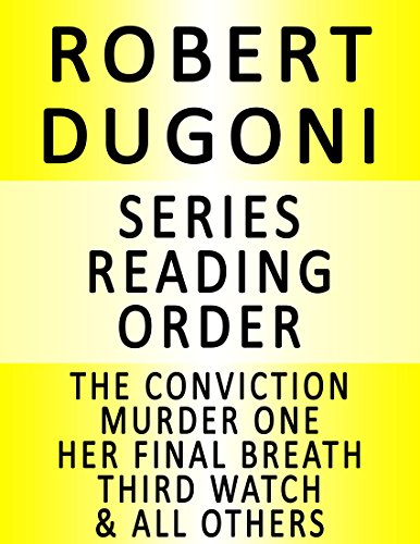 ROBERT DUGONI — SERIES READING ORDER SERIES LIST