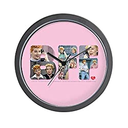 CafePress - I Love Lucy: BFF - Unique Decorative 10 Wall Clock