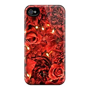 Red Roses Lights Wallpaper Cases Compatible With Iphone 6/ Hot Protection Cases