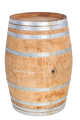 MGP Oak Whole 26'' W x 36'' L Lacquer Finished Wine Barrel by Master Garden Products