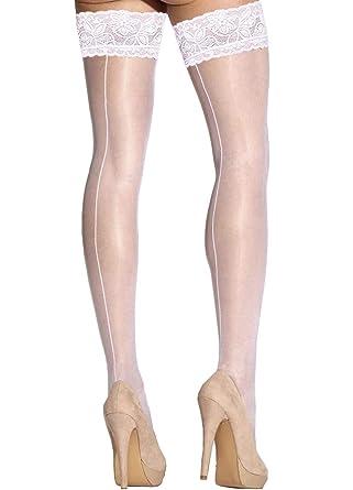 Gabriella - Bas Mariage Autofixant à Couture Princessa05 - Femme - 20 d ( BLANC 813653b4c39