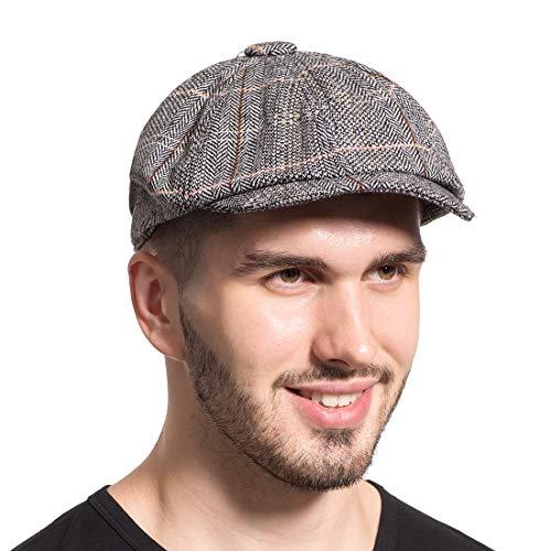 Leucos Ticte Gatsby Newsboy Hat Men Women Classic