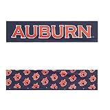 Fleevz NCAA Auburn Tigers Reversible Team Color Narrow Headband, Burnt Orange/Navy Blue