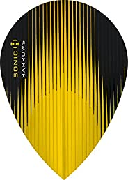 10 x Sets Harrows Sonic Yellow Dart Flights Pear