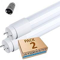 Pack 2x Tubo LED 60 cm, 9W. T8
