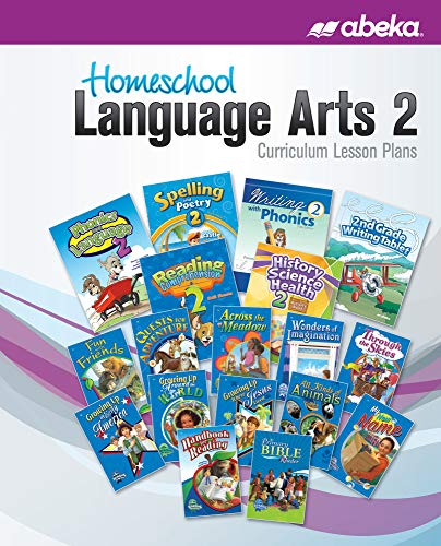 Language Arts 2 Curriculum Lesson Plans for sale  Delivered anywhere in USA
