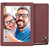 Nixplay Seed 10 Inch WiFi Cloud Digital Photo Frame with IPS Display, iPhone & Android App, iOS Video Playback, Free 10GB Online Storage, Alexa Integration and Hu-Motion Sensor - Mulberry (W10A)